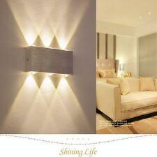 TIEFPREIS!! 6W Led Wandlampe Modern Wandleuchte Flurlampe Warmweiß ALU Wandlampe