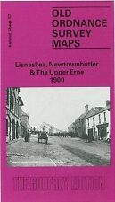 MAP OF LISNASKEA, NEWTOWNBUTLER & THE UPPER ERNE 1900
