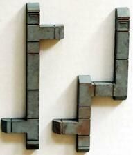 Scale Structures LTD, SS Ltd style Building DUCTWORK 2 Pack HO scale Painted