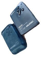 SONY Walkman WM-DD33 Quartz MEGA BASS DOLBY NR DD Kassettenspieler tragbar TOP!