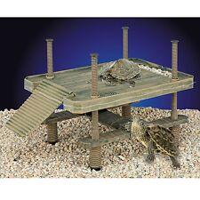 Penn Plax Decorative Turtle Pier Floating/Basking Platform Large Island Dock NEW