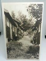 Vintage Postcard Bryn Corach Conway Wales  Mens Garden Houses VGC Unposted
