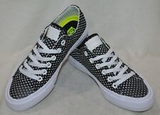 1977cbe53380 Converse Women s CTAS II OX Black White Sneakers - Size 7   10 NWOB 155461C