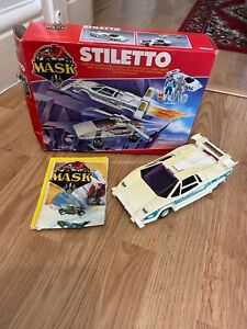 M.A.S.K Stiletto with Box and Gloria Baker Figure