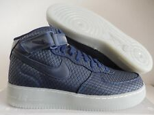 NIKE AIR FORCE 1 MID 07 LV8 BINARY BLUE-BINARY BLUE SZ 13 [804609-401]