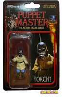 "NEW Puppet Master TORCH 3"" Movie Halloween Action Figure Toy Horror reaction"