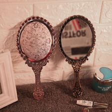 Hand Held Mirror Salon Mirror Large Lady Women Makeup Beauty Cosmetic  New