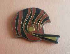 Cincinnati Bengals Logo NFL Football Helmet Lapel Pin