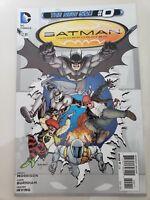 BATMAN INCORPORATED #0 & 1 (2012) DC 52 COMICS 1ST APPEARANCE OF BAT-COW! NM
