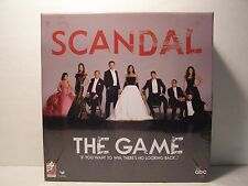 ABC Scandal The Game 2-8 Players Ages 12+ NEW