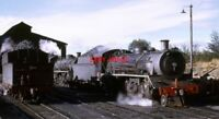 PHOTO  SOUTH AFRICAN RAILWAYS A 19B CLASS 4-8-2 WITH ANOTHER ONE BEHIND IT ON SH