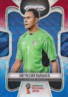 2018 Panini Prizm World Cup Russia '18 Costa Rica Red Blue Wave (#46 - #53)