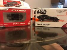"Lot Hot Wheels id Star Wars Darth Vader Limited Run Car includes ""3 New in Box"""