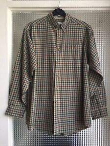 Orvis Mens Check shirt size Medium