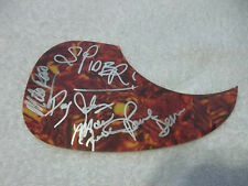 Loverboy Signed Pickguard Reno Dean Johnson Frenette Spider Sinnaeve All 5