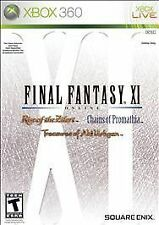 XBOX 360 Final Fantasy XI Online Rise of the Zilart Chains of Promathia