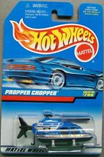 Hot Wheels 1997 Diecast Coll. #798 Propper Chopper Blue & Black w Black Interior