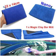 1x Nano Car Wash Magic Clay Mitt Cloth Care Cleaning Towel Microfiber Sponge Pad