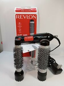 "Revlon Curl And Volumize All In One Style Kit. 1 Brush 11/2.""  Other Brush 1"""
