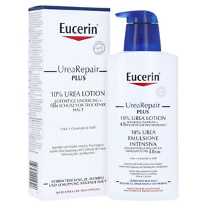 Eucerin UreaRepair PLUS 10% UREA LOTION 400ml Dry Scaly Itchy