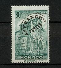 (YYAN 616) Monaco 1943 MNH Overprint Mich 229V