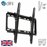 """Dihl Tilt for 26"""" to 56"""" TV Bracket Plasma LCD LED Down Wall Mount Slim 400x400"""