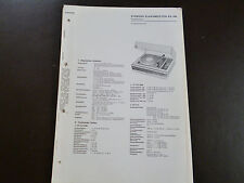 Original Service Manual Siemens Klangmeister RS 256