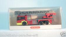 Wiking 1:87 615 02 41 Feuerwehr DLK 30 PLC MB Econic (DX739)