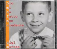"""GIGI MARRAS - RARO CD FUORI CATALOGO CELOPHANATO"""" DIO MI HA FATTO NON CREDENTE """""""
