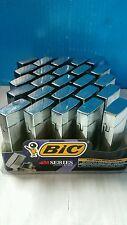 1 Bic M Series Lighter Metal Flip Top Case
