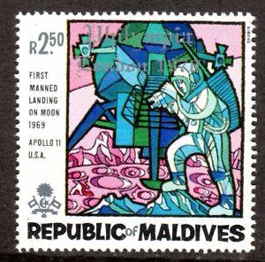 1969  Maldives SC# 301 - Astronaut with Television Camera - M-NH