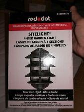 New listing Red Dot Site Light 4 Tier Garden Light lot of 4
