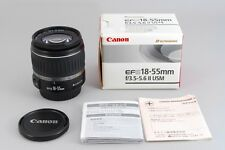 [Mint in Box] Canon EFS EF-S 18-55mm F3.5-5.6 II USM From Japan #1220832