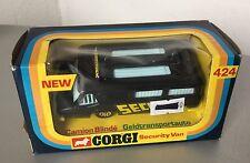 VINTAGE# CORGI TOYS 424 SECURITY VAN #NIB 1:43 Scale