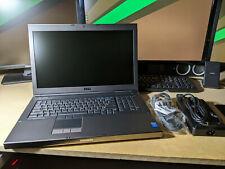 """New listing New Dell Precision M6800 17.3"""" Fhd i7 4940Mx 32Gb 2Tb Ssd Nvidia P5000 16Gb Wrt"""