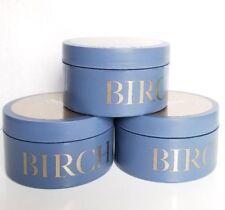 3 Birch & Argan Bath and Body Works Body Butter with pure argan oil 6.5 oz