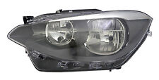 Fits Bmw 1 Series 12-15 Headlight With Motor Lh Left Passengers Nearside
