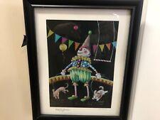 "Mary Engelbreit Limited Edition Framed Print ""Be a Clown�"