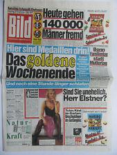 Bild Zeitung 24.9.1988, Sabrina Lallinger, Cleo Kretschmer, Maria Perschy
