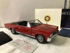 1/24 scale metal FRANKLIN MINT 1964 Pontiac GTO red convertible