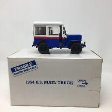 DANBURY MINT RARE 1954 WILLYS U.S. MAIL TRUCK COMPLETE W Box, NEW