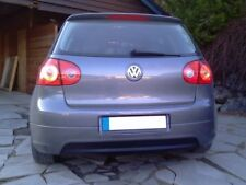 REAR VALANCE VW GOLF MK5 (GTI EDITION 30 LOOK) (WITHOUT EXHAUST HOLE)