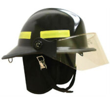 "MSA Safety Cairns Invader 664 Composite Fire Helmet Deluxe with 4"" Faceshield"
