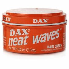3 X Dax Wax Orange Neat Waves 99g Tin