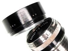 Bakelite 40.5mm Hood for Contax RF 50mm f1.5 & f2 Sonnar ........ Rare !!