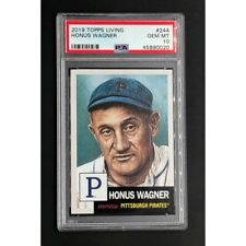 2019 Topps Living Set #244 HONUS WAGNER PSA 10 *POP 96!*