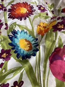 Cynthia Rowley Fabric Floral Vibrant Fabric Shower Curtain 72X72''
