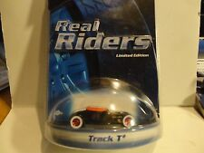 Hot Wheels Real Riders Series Black Track T