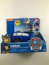 PAW Patrol Chase Chase's Transforming Police Cruiser w/ Figure New