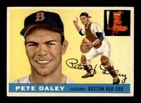 1955 Topps Set Break # 206 Pete Daley EX *OBGcards*